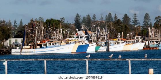 Fisherman boats marina ,Yamba Australia