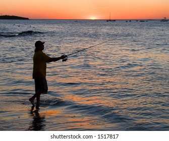 Fisherman in Costa Rica