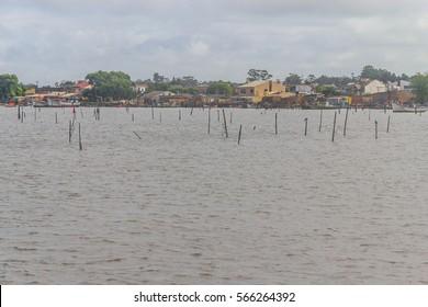 Fisherman houses in Sao Jose do Norte