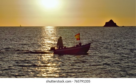 fisherman returning home after the fishing day in the Mediterranean Sea,old fisherman's office,peace, calm, serenity, harmony, fullness, well-being, nature, natural, contemplate, meditate, breathe,