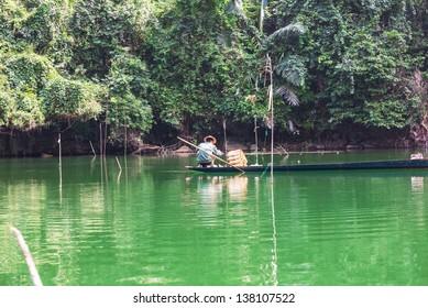 Fisherman in Vietnam