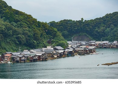 Fisherman Village in Kyoto of Japan