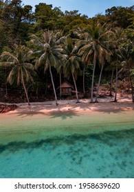 Fisherman village landscape at Koh Waii Island in Trat, Thailand