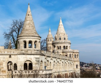 Fishermans Bastion, Buda castle in Budapest, Hungary