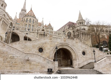 Fisherman's Bastion in Budapest, Hungary.