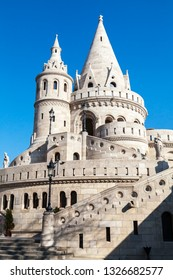 Fishermans bastion in Budapest, Hungary