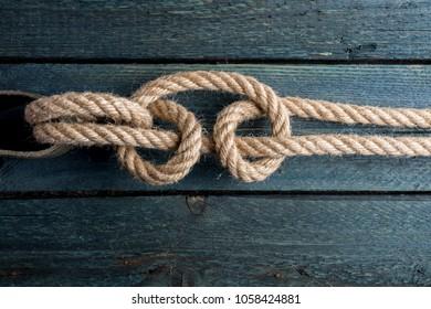 Fisherman's Bend. Rope node.