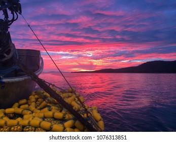 A Fisherman's Sunset: Sitka, AK