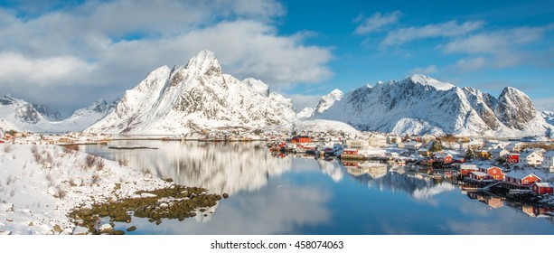 Fisherman's village, Lofoten island