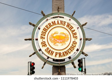 Fisherman's wharf sign in San Francisco, United States of America