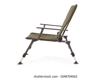 Fisherman's (working) chair isolated on white background