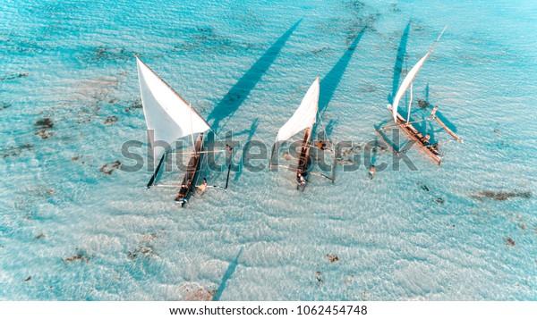 Fischerhafen in Sansibar