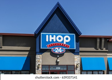 Fishers: - Circa May 2017: International House of Pancakes. IHOP is a Restaurant Chain Offering a Variety of Breakfast and Dinner Meals IV