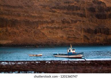 Fishing boat, Agaete, Gran Canaria