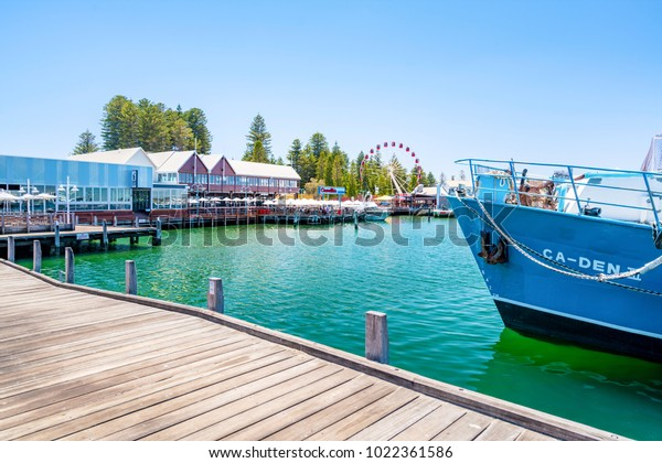 Fishing Boat Harbour is a popular destination for tourists and locals alike in Fremantle, Perth, Western Australia, Australia. Photographed: January 8th, 2018.