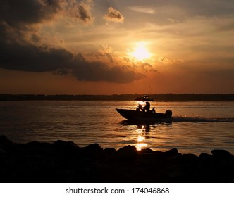 Fishing Boat  Heading Home