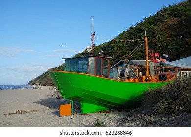 Fishing boat on the Baltic Sea