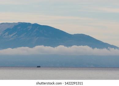 Fishing boat on the Ionian Sea