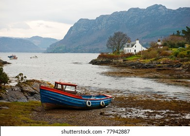 Fishing boat in Scotland