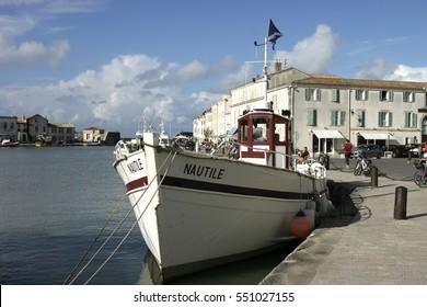 Fishing boat in St Martin de Re, Il de Re