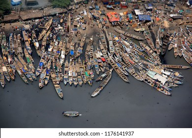 Fishing Boats in Accra, Ghana