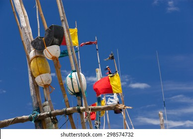 Fishing Boats Flags