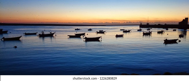 Fishing boats in the late afternoon, Portugal