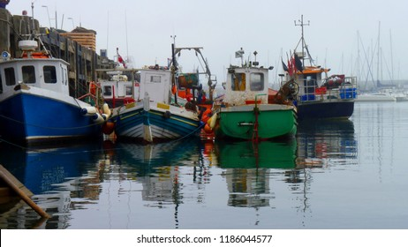 Fishing Boats in Scarborough Harbour