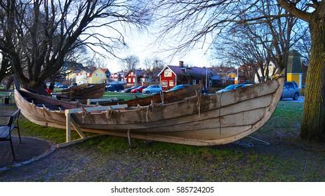 Fishing boats, Sigtuna, Sweden