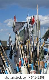 Fishing equipment in the port of Dragoer