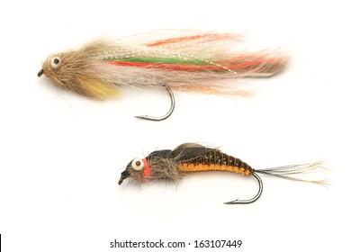 Fishing, fly fishing artificial bait, streamer