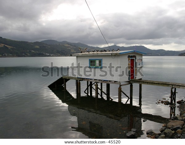Fishing Hut, New Zealand