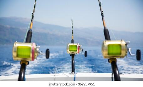 Fishing near Madeira island