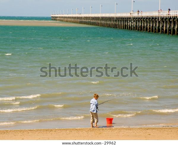 Fishing near the Pier