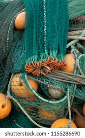 Fishing net for upload on the boat