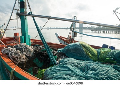 Fishing Nets on ship