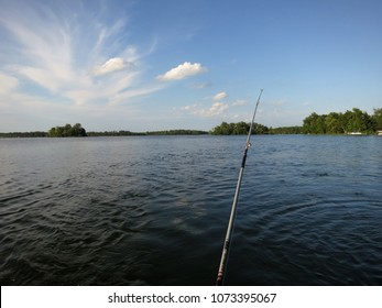 Fishing on the Lake, POV.