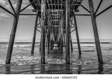 The fishing pier at Oceanside, California.