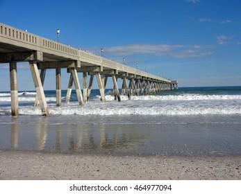 Fishing Pier on Wrightsville Beach, North Carolina
