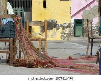 Fishing port in South of Italy