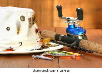 022c70d355bc0 Fishing Hat Images, Stock Photos & Vectors   Shutterstock