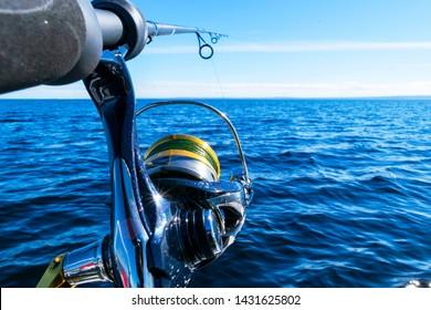 "4/"" Fishing Penn Reels fish tackle reel Vinyl Decal Sticker window Car Truck boat"