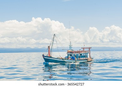 Fishing ship in Thailand sea