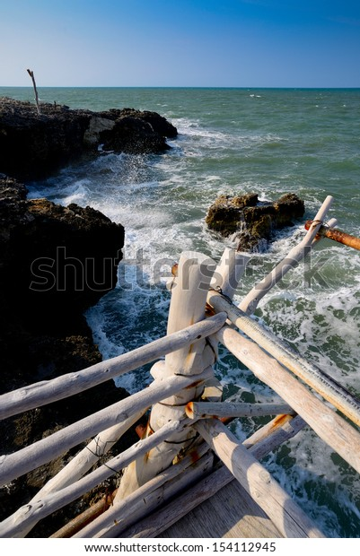 fishing station - Gargano - Puglia - Italy