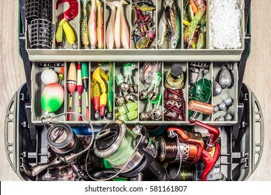 fishing tackle gear box