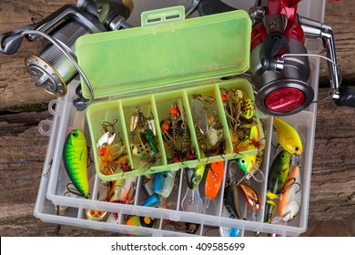 Tackle Box Images Stock Photos Vectors Shutterstock