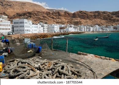 The Fishing Town of Al Mukalla in Yemen