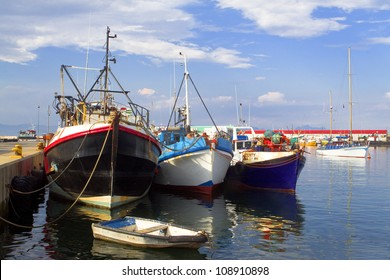 Fishing Trawlers in Mossel Bay Harbour