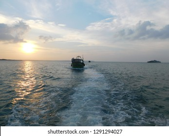 fishing trawlers ocean