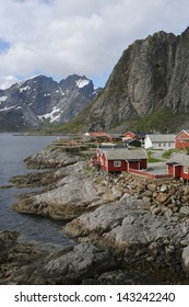 Fishing village, Lofoten Norway